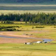 Valley of river in north Mongolia — Stock Photo #22164933