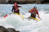 Rafting competition — Stock Photo