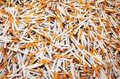 Smoking cigarettes — Stock Photo