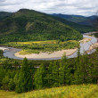 Stock Photo: River in northern Mongolia