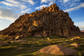 Mountains in Western Mongolia — Stock Photo