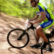 Mountain bike competition - Foto de Stock
