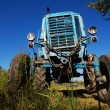 Wheeled agricultural tractor — Stock Photo
