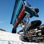 Piste machine (snow cat) — Stock Photo #2600318