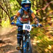 Stok fotoğraf: Extreme mountain bike competition