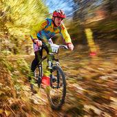 Mountain buke competition — Stock Photo