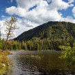 Stock Photo: Lake Small Yazevoe, Altai, Kazakhstan