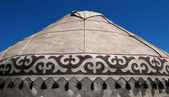 Detail of yurt — Stock Photo