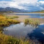 Lake Small Yazevoe, Altai, Kazakhstan — Stock Photo