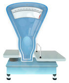 Vintage weighing scales — Stock Photo