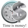 Time is money — 图库照片