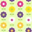 Royalty-Free Stock Vector Image: Spring flower seamless pattern vector design