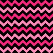 Cute Chevron seamless pattern ( black and pink ) — Stok Vektör