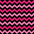 Cute Chevron seamless pattern ( black and pink ) — Stock Vector