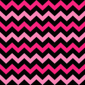 Cute Chevron seamless pattern ( black and pink ) — Διανυσματικό Αρχείο