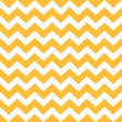 Thanksgiving Chevron pattern - yellow and white — Stock Vector