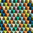 Op Art Cubes Pattern — Stock Photo #24838471