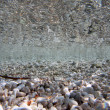 Stock Photo: Pebble beach view beneath surface