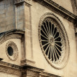 Rosetton front side of St. James Cathedral, Sibenik — Stock Photo #37002721