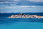 Primosten, famous touristic destination in Croatia  — Stock Photo
