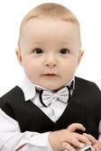 Beautiful baby look at the camera — Stock Photo
