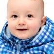 Laughing happy baby boy — Stock Photo
