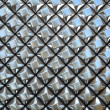 Abstract pattern of  small metal rhombus  pieces — Stock Photo