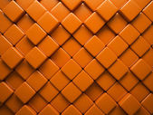 Abstract pattern of rhombus orange pieces — Stock Photo