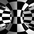 Stock Photo: Black-and-white abstraction