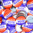 American vote buttons illustration — Stock Photo #18887509