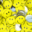 Royalty-Free Stock Photo: Buttons with smiles