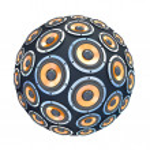 altavoces en forma de esfera aislada — Foto de Stock
