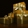 Luxurious gift boxes — Stock Photo #2611760