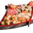 Stock Photo: Set sushi