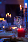 Candle light — Stock Photo