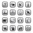 Wireless and technology icons — Stock Vector #12239603