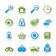 Web Site and Internet icons — Stockvector #16036663