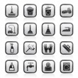 Stock Vector: Cleaning and hygiene icons