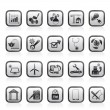 Internet and Website Portal icons — Stock Vector
