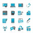 Royalty-Free Stock Vector Image: Communication and connection icons