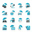 Royalty-Free Stock Vector Image: Insurance, risk and business icons