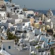 Fira town - Santorini - Stock Photo