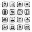 Construction and home renovation icons — Stock Vector #25557097