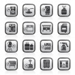 Household Gas Appliances icons — Stock Vector #25557109