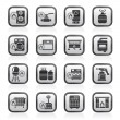 Household Gas Appliances icons - Stock Vector