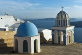 Church in Fira, Santorini, Thira — Stock Photo