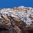 Town of Ia, Santorini, Thira — Stock Photo