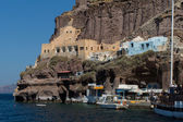 Port of Fira, Santorini, Thira — Stock Photo