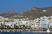Landscape of Naxos town — Stockfoto