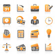 Business and office icons — Stock Vector #34336795